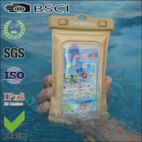 High quality fashional waterproof bag for iphone 4 with string