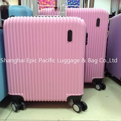 Beautiful Pink Small Size Luggage ABS Carry-on luggage