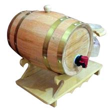 natural wholesale wooden wine keg, new design beer usage wine barrel