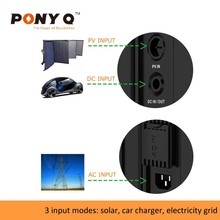 Home Solar Energy Equipment: 110V / 220V Portable UPS Systems for Emergency Use / Home Use with 100AH Lithium-ion Battery Inside