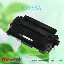 Laser printer toner powder CE255A cartridge for hp empty toner cartridge