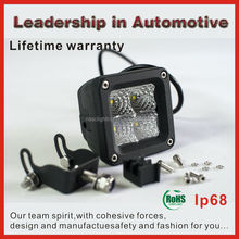 Lifetime warranty and factory price 3Inch 20W Cree Led Driving Spot Work Light 4WD Offroad VS Hid 30W