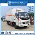 Foton 20 cbm de acero inoxidable de refrigeración van camión, camiones refrigerados, de enfriamiento de coches para la venta
