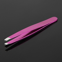 INTERWELL BR34 High Quality Slant Tip Eyebrow Tweezers