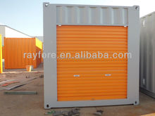 20ft/40ft rolling door container for self storage