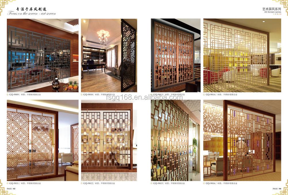 en acier inoxydable de panneau de cloison transparente parois des cloisons chambre id de. Black Bedroom Furniture Sets. Home Design Ideas