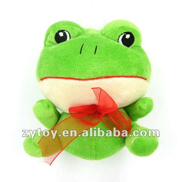 Oem di alta qualità mini cartone animato rana verde
