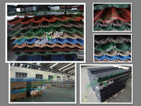 Stone coated metal roof tile / Popular stone coated metal roof tile / High quality sand coated metal roofing sheet