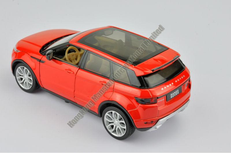124 Alloy Car Model For Range Rover Evoque-4