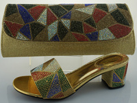 SB428 gold EUR size 38/39/40/41/42 message us which size you want italian shoes and bags to match women/bags and shoes
