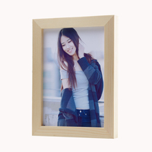Raw Wood Color 7 inch Wood Photo Frame, 7 inch Photo Frame on Sale