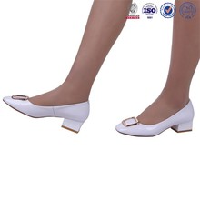 pictures casual leather girls shoes lady shoe pumps new style spring summer lady shoe