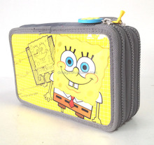 Sponge bob Filled Pencil Case