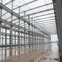 Steel Structures Light Tube Truss Steel Structure Workhouse 302 Made in China