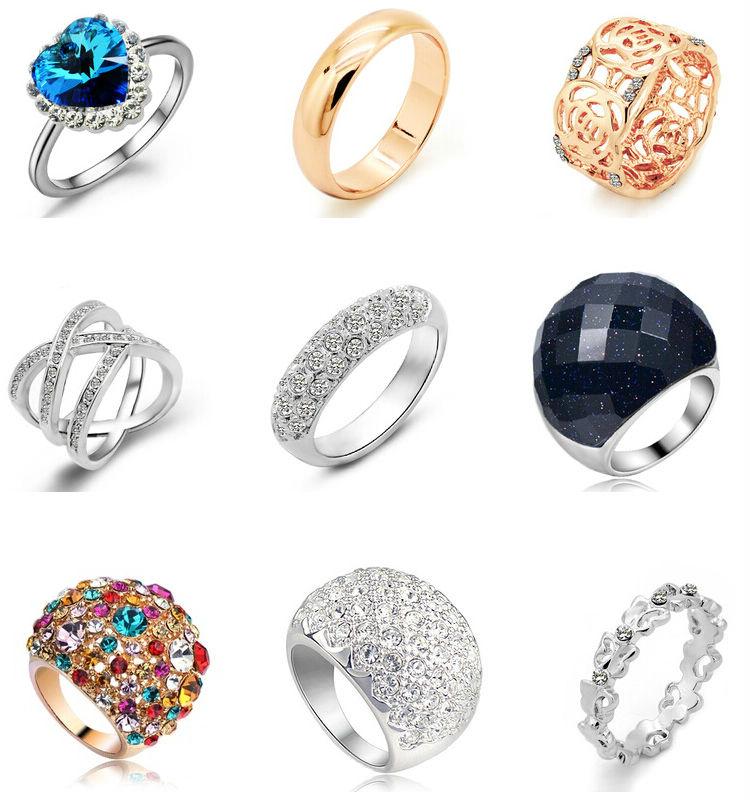 какие кольца в моде 2015