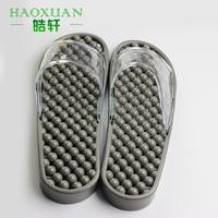 PVC Household Bathroom Anti-skid massage slippers mans