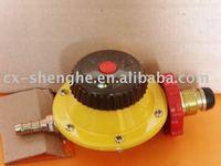 lpg gas regulator with mater