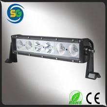 12v 13.5inch 60w spot beam flood beam combo beam single stack front led light bar