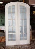 factory price high quality fashionable aluminum arch shaped door