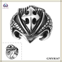 Artificial Jewellery Male Skull Ring Overseas Jewelry Manufacturer