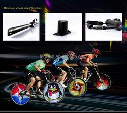 2015 Bike Light 128LED Programmable Wheel Light LED Bicycle Wheel Light IPX6