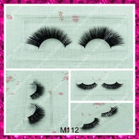New designed real mink false eyelash extensions siberian mink lashes