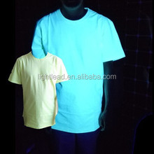 full cotton glow in dark T-shirts glow shirts