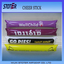 inflatable cheering sticks , glow Cheering Stick , Party club led cheering stick