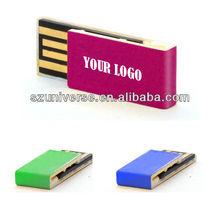 Free sample accept paypal slim mini wholesale usb thumb drive
