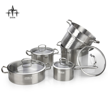 Stainless steel cooking pans set/camping cooking utensils set/DX-A102