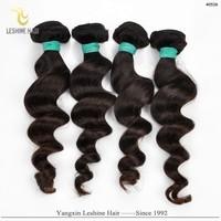 China Supplier Unprocessed Durability Gentle Flexible Soft Remy brazilian hair colour chart