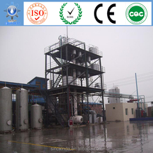 vegetable oil to biodiesel production line in small scale 2 ton or 5 ton per day