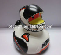 lively sports duck rubber duck plastic toy kids toy