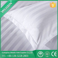 Weisdin Hotel high quality white 100%cotton pillow case factory