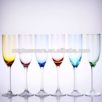 hot sale new arrived handmade colorful table glassware