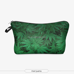 alibaba express cotton cosmetic bag with custom logo wholesale canvas cosmetic bag green mens travel cosmetic bag