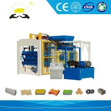 Libya construction projects QT10-15 Cement block machine 10-15