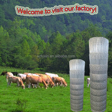 2015 new product durable against hit field fence wire 8ft