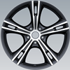 15*14 black Car steel wheel