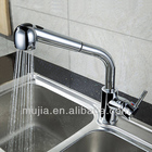 mk10 novo design acabamento cromado latão deck montado mangueira flexível longo pescoço torneira da cozinha