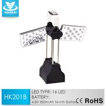 Multifunctional 30 led Hand Crank Rechargeable Swivel Lantern