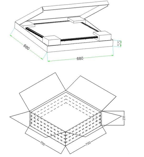 new square led panel light price wholesale china 48w ultra
