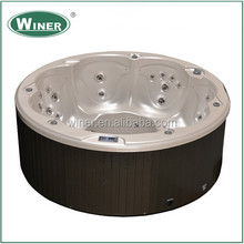 Hot sale big promotion round family used Hot Tub For Sale
