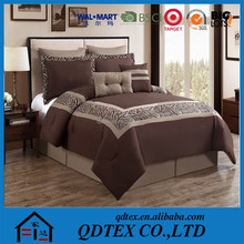 embroidery quilted home fashions 100% cotton printed down comforter