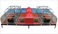 metal fence sow cage birthing pig crate stall with warm box