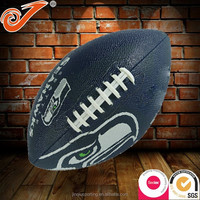 Eagle printed football american,Sewing Team Sports Playing goods PU custom rugby ball