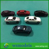 1/100 Car Model Architectural Model Material Diecast Plastic Car Toys