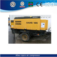 air compressor portable,58KW XAS 137 Atlas Copco mobile Air Compressor