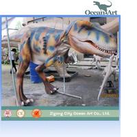 Animated adult realistic dinosaurs costume