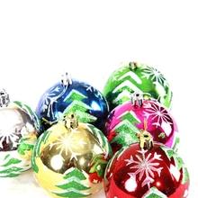 Christmas tree Christmas ball ornaments , 8 cm Christmas ornaments ball